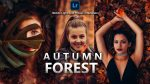 Autumn Forest Lightroom Mobile Presets DNG of 2021 for Free | Autumn Forest Mobile Lightroom Preset DNG of 2021 for free