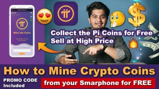 Collect Pi Coins for FREE in 5 Seconds from Your SMARTPHONE Daily | Invitation Code:- ashvircreations