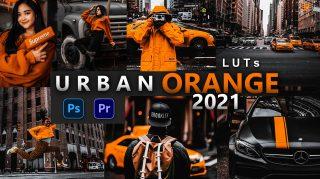 Urban Orange LUTs of 2021   How to Colorgrade Urban Orange Effect to Photos & Videos in Photoshop & Premiere Pro