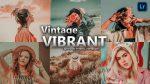 Vintage Vibrant Lightroom Presets of 2021 for Free | Vintage Vibrant Desktop Lightroom Presets of 2021