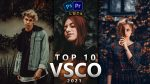 Top 10 VSCO LUTs of 2021 // FREE Zip File / 10 FREE VSCO LUTs for Premiere Pro, Photoshop, Final Cut Pro, After Effects