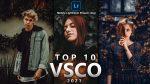Top 10 VSCO Lightroom Mobile Presets DNG of 2021 for Free | Top 10 VSCO Mobile Lightroom Preset DNG of 2021 for free