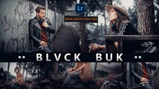 BLVCK BUK Lightroom Mobile Presets DNG of 2021 for Free | BLVCK BUK Mobile Lightroom Preset DNG of 2021 for free