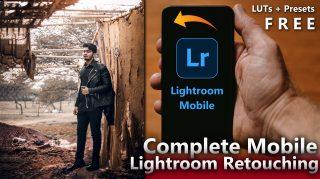 Complete Lightroom Mobile Retouching Tutorial in 3 Steps - Ash-Vir Creations + Free Beauty Brown Presets + LUTs (zip File)