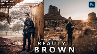 Beauty Brown Camera Raw XMP Preset of 2021 for Free | Beauty Brown Camera Raw Preset of 2021 Free XMP Preset