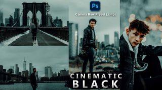 Cinematic BLACK Camera Raw XMP Preset of 2021 for Free   Cinematic BLACK Camera Raw Preset of 2021 Free XMP Preset