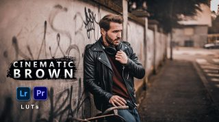 Cinematic Brown LUTs of 2021 | How to Colorgrade Cinematic Brown Effect to Photos & Videos in Photoshop & Premiere Pro