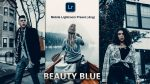 Beauty BLUE Lightroom Mobile Presets DNG of 2021 for Free | Beauty BLUE Mobile Lightroom Preset DNG of 2021 for free