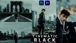 Cinematic BLACK LUTs of 2021 | How to Colorgrade Cinematic BLACK Effect to Photos & Videos in Photoshop & Premiere Pro