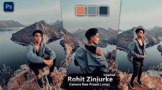 Rohit Zinzurke Inspired Camera Raw XMP Preset of 2021 for Free | Rohit Zinzurke Inspired Camera Raw Preset of 2021 Free XMP Preset
