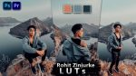 Rohit Zinzurke Inspired LUTs of 2021 | How to Colorgrade Rohit Zinzurke Inspired Effect to Photos & Videos in Photoshop & Premiere Pro