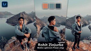 Rohit Zinzurke Inspired Lightroom Mobile Presets DNG of 2021 for Free | Rohit Zinzurke Inspired Mobile Lightroom Preset DNG of 2021 for free